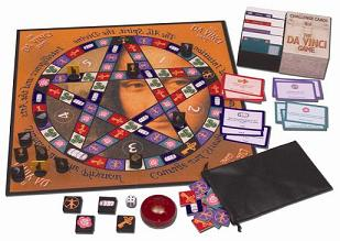 The Da Vinci Board Game with codes, riddles and anagrams