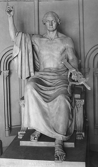 George Washington as Zeus